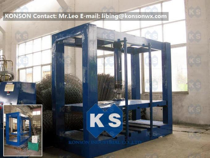 3000×1000mm And 2000x1000mm Automatic Hydraulic Packing Machine Gabion Production Line Manufacturers