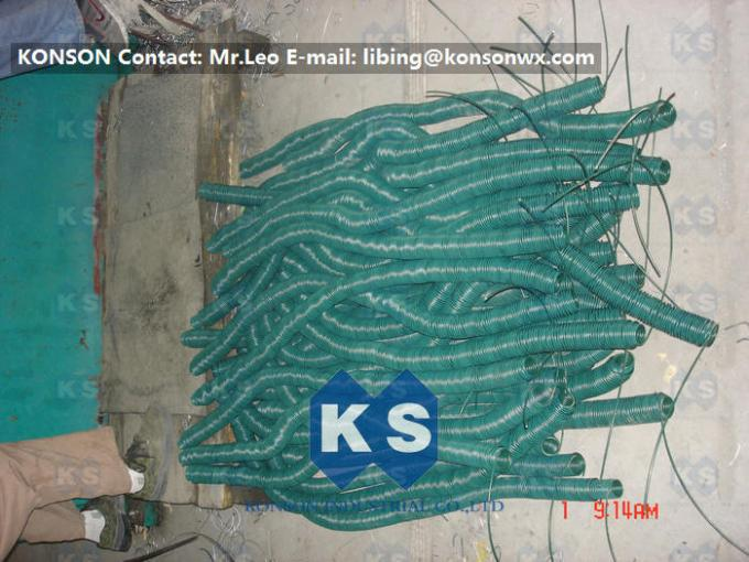Automatic Cutting Automatic Spiral Wire Coiling Machine Spring Wire Machinery Gabions Line