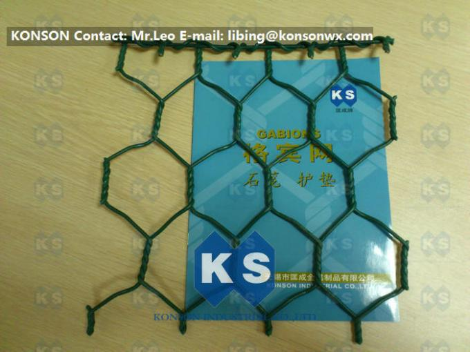 Automatic Wire Netting Galvanised Wire Mesh PVC Coated Hexagonal Wire Netting Making Line