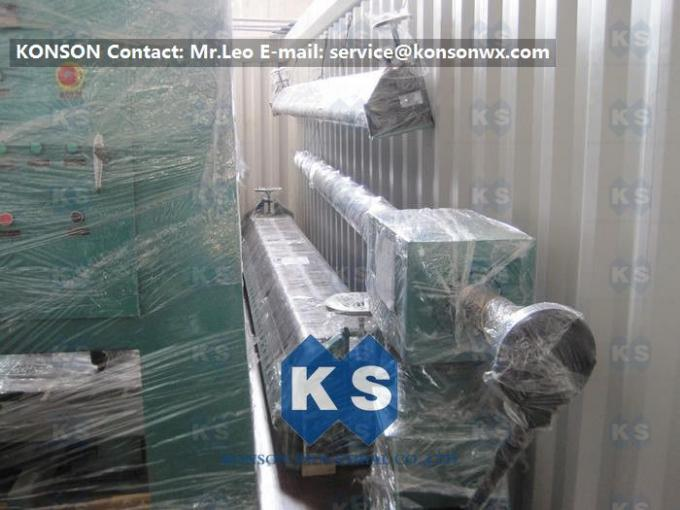 Double Rack Drive Gabion Machine / Hexagonal Wire Mesh Machine