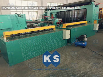 चीन 5kw Automatic Wrapped Edge Gabion Machine Edge Wrapping Machine 4 Meter आपूर्तिकर्ता