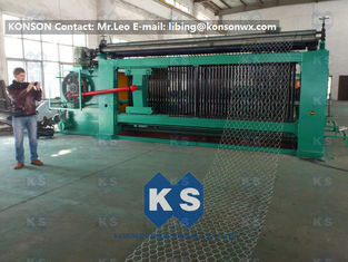 चीन Double Rack Drive Gabion Machine / Hexagonal Wire Mesh Machine आपूर्तिकर्ता