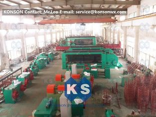 Heavy Duty Auto Gabion Mesh Knitting Machine For Making Double Twist Gabion Boxes