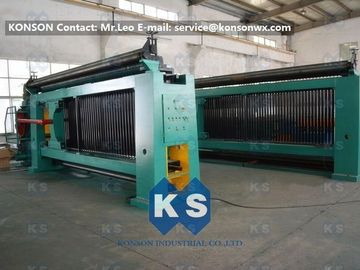 चीन Heavy Duty Hexagonal Mesh Machine Weaving Width 4300mm Galvanized Wire 4.0mm आपूर्तिकर्ता