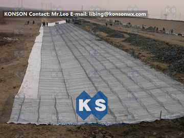 चीन Hot Dip Galvanized Hexagonal Wire Mesh Gabion Boxes For Water And Soil Erosion Preventing आपूर्तिकर्ता