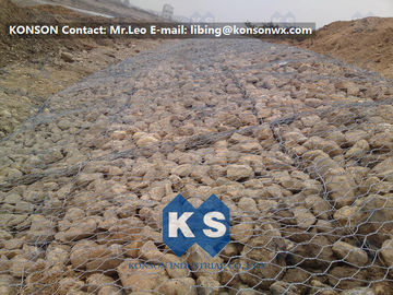 चीन Metal Wire Mesh Gabion Box Stone Cage , Galvanized Welded Gabion Wire Mesh आपूर्तिकर्ता