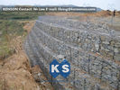 चीन Galvanized Wire Gabion Retaining Walls Plastic or Stainless Steel Wire PE Coating Gabion Mattress फैक्टरी