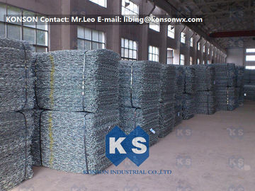 चीन Professional Galvanized Wire Gabion Basket Protection Engineering Stone Cages फैक्टरी
