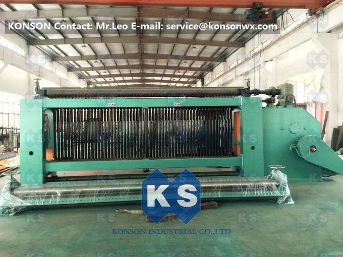 Spiral Coiling Gabion Production Line For Making Stone Cage 2 x 1 x 1m