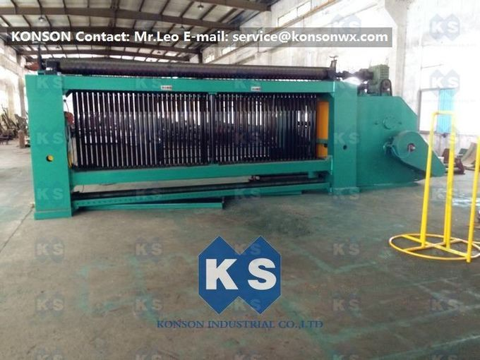 High Corrosion Resistance Gabion Machine For Galfan Wire Gabion Box Making